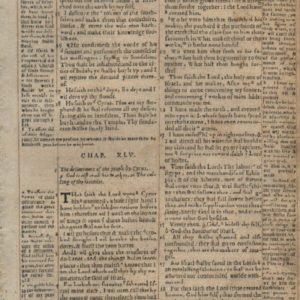 Geneva Bible – 1569 – ISAIAH 44:23-47:6