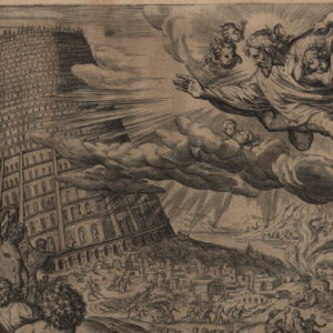 Tower of Babel – 1579 – Set of 3 Plates