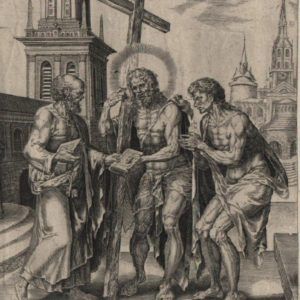 Law and Gospel – 1565 – Set of 2 Plates