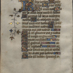 Book of Hours – 1300 – Kyrie!