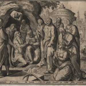 Resurrection of Lazarus – 1585