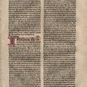 Biblia Sacra – 1482 multi – JEREMIAH 30-32