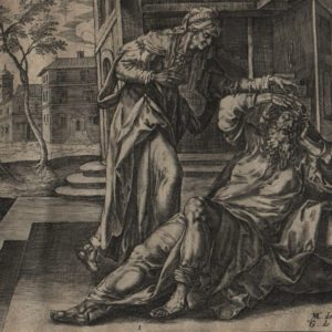 Story of Tobias – 1579 – Set of 6 plates