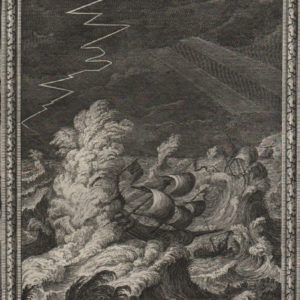 God Commands the Storm – 1731 – Scheuchzer