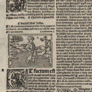 Biblia Sacra – 1519 – JOSHUA 1
