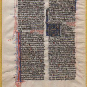 Biblia Sacra – 1250 – JEREMIAH 1 / ISAIAH 66