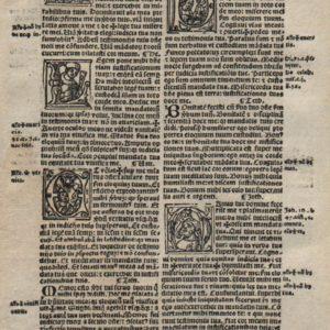 Biblia Sacra – 1519 – PSALM 119