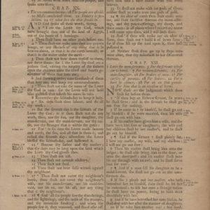 King James (Collins) – 1791 – EXODUS 20-22