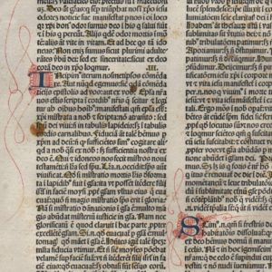 Biblia Sacra – 1479 – 2 CORINTHIANS 2-7