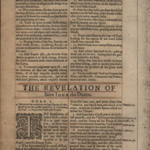 King James – 1627 – REVELATION 9-Leaf Set