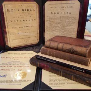 King James (Collins) – 1791 – Whitall-Tatum Family Bible Collection