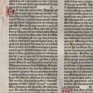 Biblia Sacra – 1479 – EXODUS 9-12