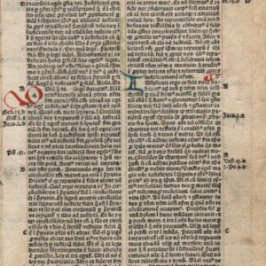 Biblia Latina – 1495 – ROMANS 3-7