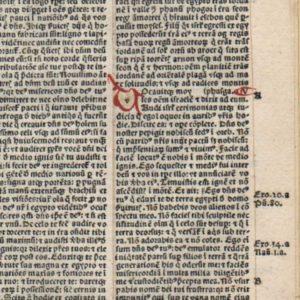 Biblia Latina – 1495 – DEUTERONOMY 4-6