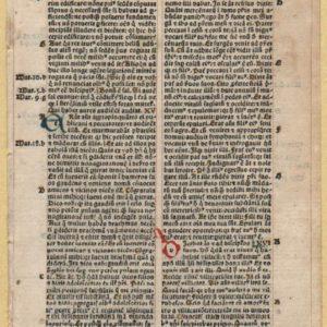 Biblia Latina – 1495 – LUKE 14-17