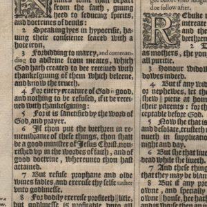 """King James """"He"""" – 1611 – 1 Timothy 2-5"""