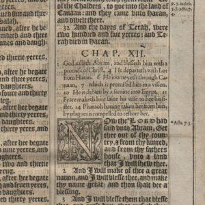 King James – 1611 – GENESIS 11-13