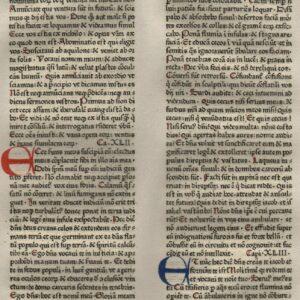Biblia Sacra – 1475 – ISAIAH 40-43