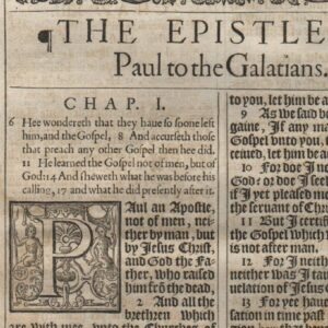 "King James – 1611 ""He"" – Galatians 1 Title"