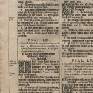 King James – 1611 – Psalms 50-54