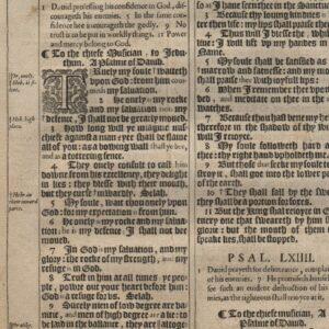 King James – 1611 – Psalms 59-64