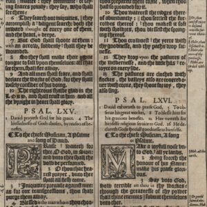 King James – 1611 – Psalms 64-68