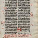 Biblia Sacra - 1480 - 2 THESSALONIANS (whole Book) + 1 THESSALONIANS 3:7-5:28