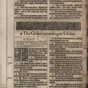 King James – 1617 – JOHN1:1-51