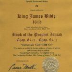 King James - 1613 - ISAIAH 6:12-9:19