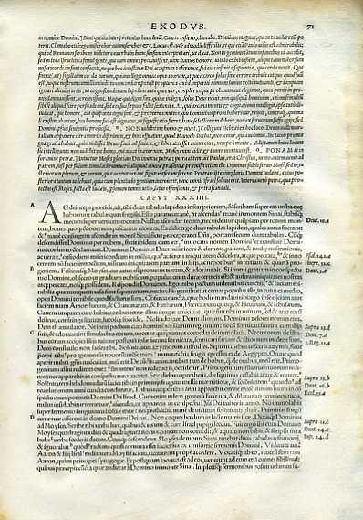 Biblia Sacra - 1542 - EXODUS 34:1-35:35