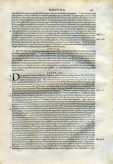 Biblia Sacra - 1542 - EXODUS 7:14-9:25