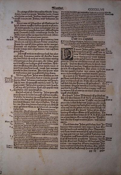 Dietenberger - 1534 - MATTHEW 3:5-5:32