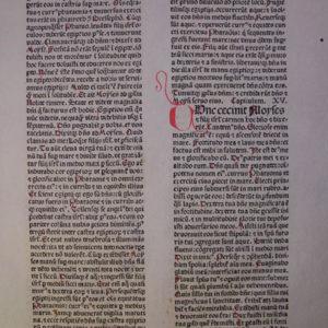 Biblia Sacra – 1479 – EXODUS 14-16