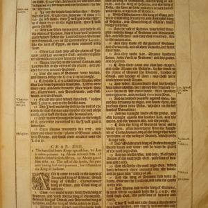 King James – 1613 – GENESIS 13-17