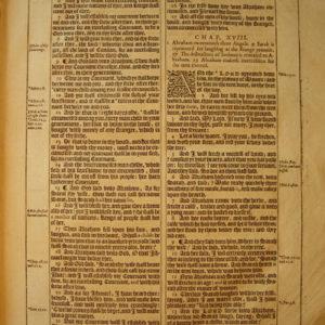 King James – 1613 – GENESIS 17-19