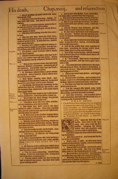 King James - 1613 - LUKE 23:17-24:53