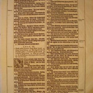 King James – 1613 – JOHN 10-12