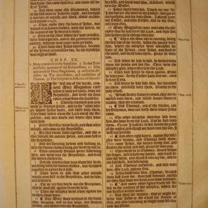 King James – 1613 – JOHN 19-21
