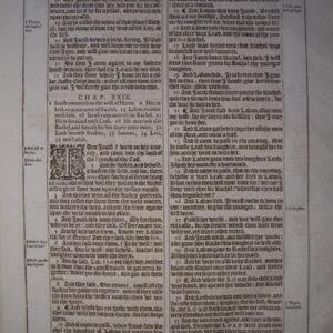 King James – 1613 – GENESIS 28-30