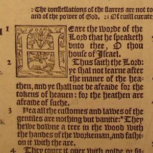 Bishops – 1568 – JEREMIAH 8:14-10:8