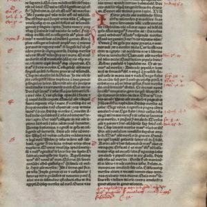 Biblia Sacra – 1480 – EXODUS 16-19