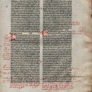 Biblia Sacra – 1480 – EXODUS 19-22