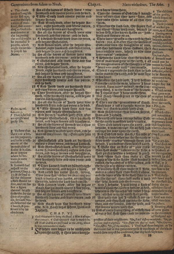 Geneva - 1581 - GENESIS 5:8-8:10