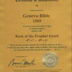 Geneva - 1569 - ISAIAH 47:7-49:21