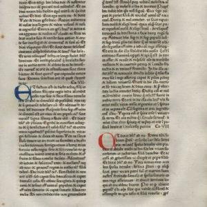 Biblia Latina – 1475 – ISAIAH 6:5-9:21