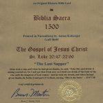Biblia Sacra - 1500 - LUKE 20:47-22:66