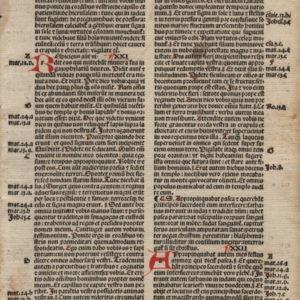 Biblia Sacra – 1500 – LUKE 20-22
