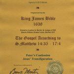 King James - 1638 - MATTHEW 14:35-17:4