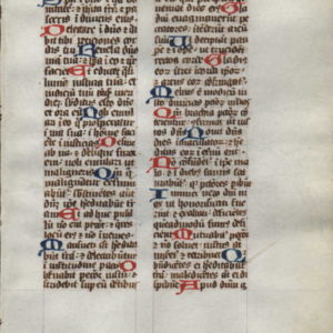 Breviary – 1475 – PSALMS 37:3-38:4
