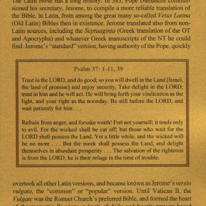 Breviary - 1475 - PSALMS 37:3-38:4, English numbering [Latin numbering 36:3-37:4]